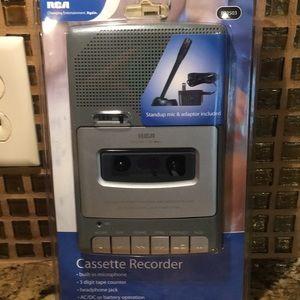RCA Cassette Player NEW